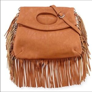 NEW Boho Fringe Purse w/ Removable Crossbody Strap